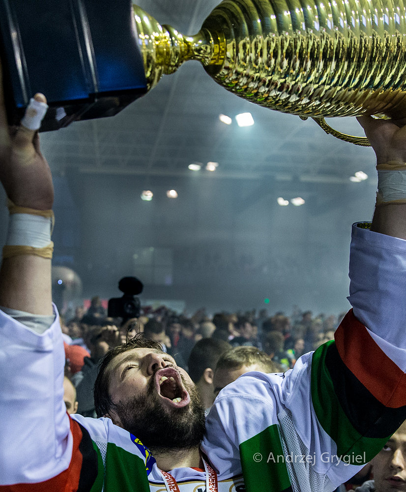 Tychy, 02.04.2015 GKS Tychy zdobył tytuł Mistrza Polski